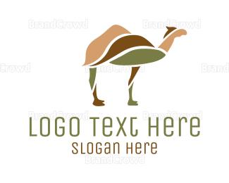 Dubai - Desert Camel logo design