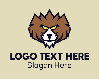 Brown Bear - Bold Grizzly Bear logo design