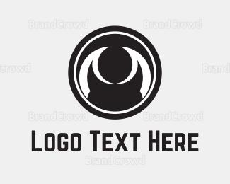 Dark - Abstract Black Eye logo design