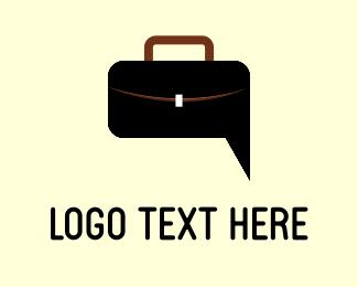 Purse - Bag & Chat logo design