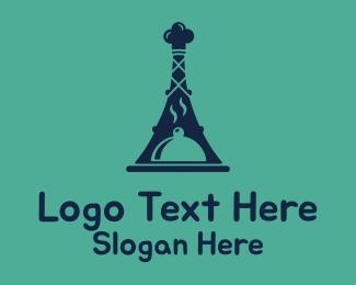 French - French Food Restaurant logo design