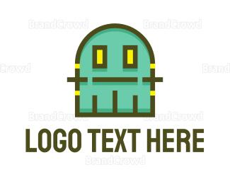 Fiction - Gaming Monster logo design