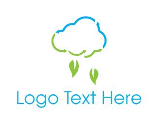 Leaf - Leaf Rain logo design