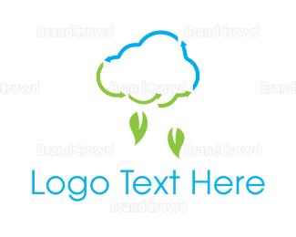 Rain - Leaf Rain logo design