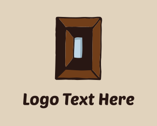 Woodwork - Wood Rectangle logo design