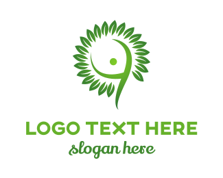 Human - Human Tree logo design