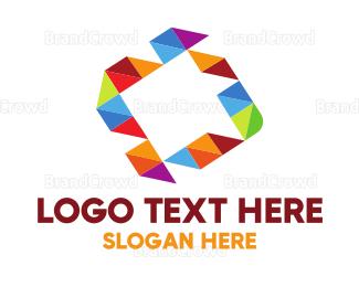 Exhibition - Colorful Square  logo design