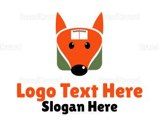 Dietitian - Fox Weighing Machine logo design