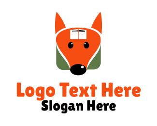 Pediatric - Fox Weighing Machine logo design