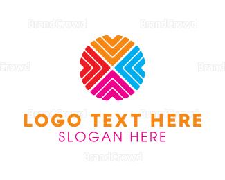 Memorable - Arrow Circle logo design