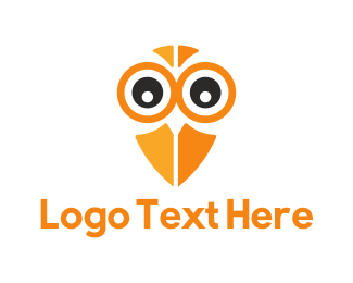 Eye - Owl Eyes logo design