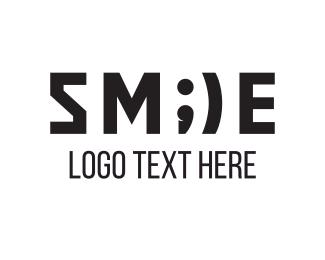 Mouth - Smile Emoji logo design
