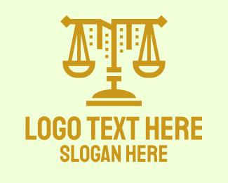 Residence - Golden Scale Residence logo design