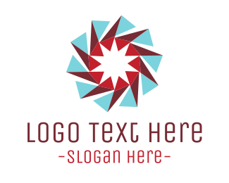 Windmill - Star Wheel logo design