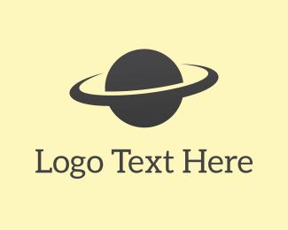 Astronomy - Saturn Orbit logo design