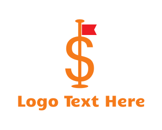 Fund - Dollar Flag logo design