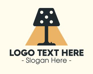 Dice - Dice Lamp logo design
