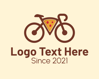 """""""Pizza Bicycle Delivery """" by Mypen"""