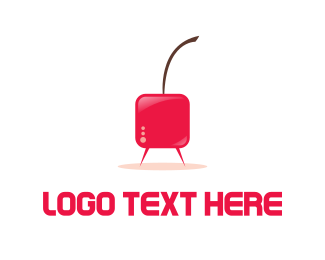 Stream - Cherry TV logo design