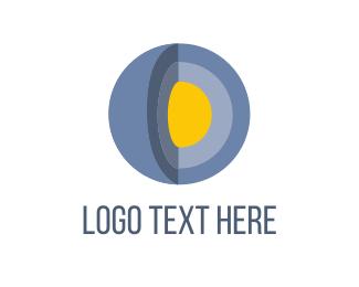 Scientist - Blue Planet  logo design