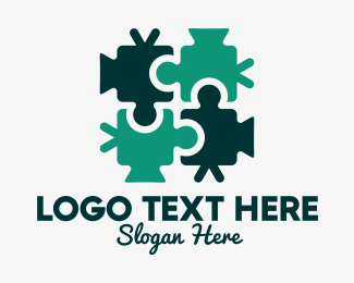 Video - Video Cam Puzzle logo design