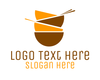 Poke - Asian Bowls logo design