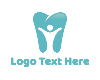 Person - Dental Person logo design