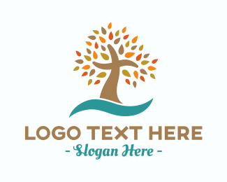 Bible Study - Abstract Cross Tree logo design