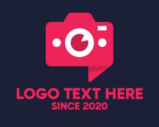 Camera Repair - Modern 3D Camera logo design