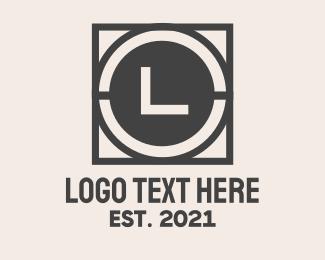 Iron - Wrought Iron Lettermark logo design