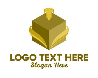 Gift - Elegant Gift Box logo design