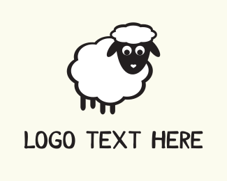 New Zealand - White Sheep logo design