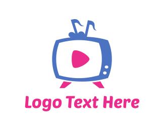 Music - Music TV logo design