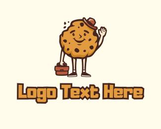 Boss - Cookie Boss Mascot logo design