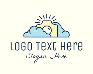 Clouds - Cloud Weather Camera logo design
