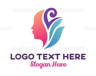Herbal - Abstract Herbal Spa logo design