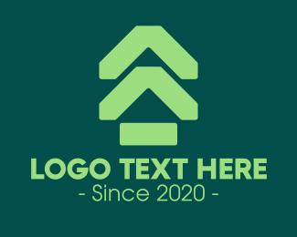Neighbourhood - Green Real Estate Subdivision logo design