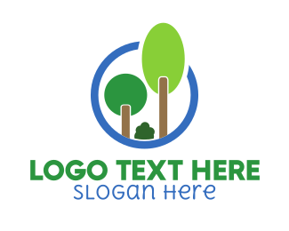 Trees - Natural Selection logo design