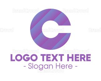 Core - Gradient Letter C logo design