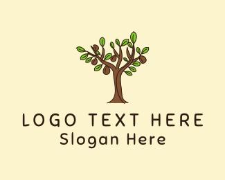 Tree - Coffee Tree logo design
