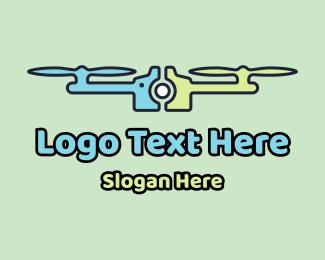 Video - Drone Shots Technology logo design