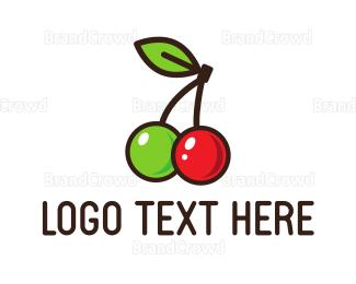 Cherry - Sweet Cherries logo design