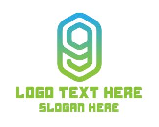 Web Hosting - Gradient Letter G logo design