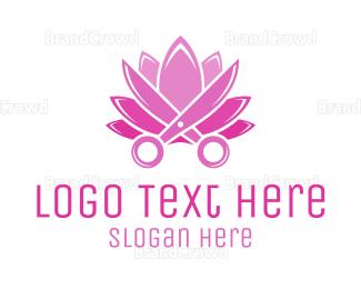 Salon - Lotus Salon logo design