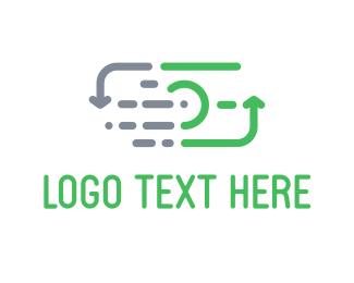 Exchange - Money Cycle logo design
