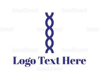 Gene - Purple Chain logo design