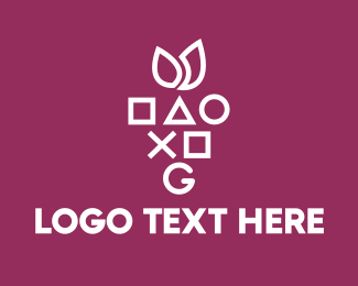 Game Developer - Gaming Symbols Berry logo design