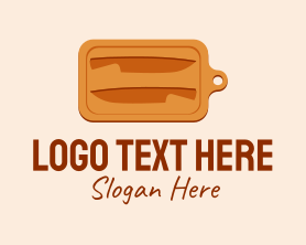 Restaurant - Carved Chopping Board logo design