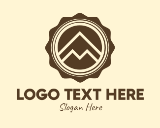 """Outdoor Mountain Badge"" by RistaDesign"