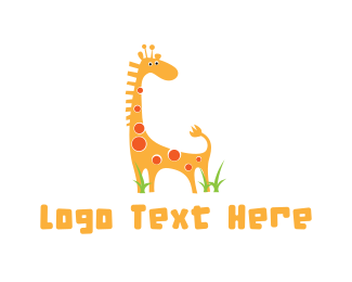 Cute - Cute Giraffe logo design